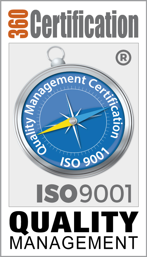 360 Certification-9001-Stamp